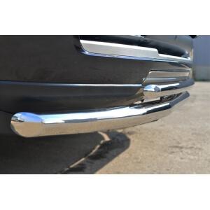 Защита переднего бампера LAND ROVER Vogue 2013 d63 (секции) d42 (дуга) LRV-001441