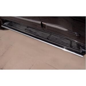 Пороги труба Lexus GX460 d42 (вариант 3) GXT-0008063