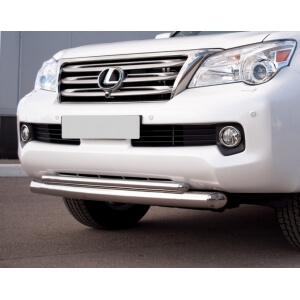 Защита переднего бампера Lexus GX460 d76/42 GXZ-000802