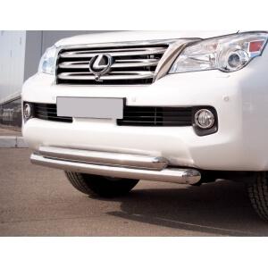 Защита переднего бампера Lexus GX460 d76/63 GXZ-000803