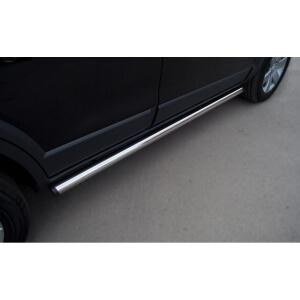 Пороги труба Lexus GX470 d42 (вариант 1) LGT-0003801