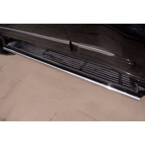 Пороги труба Lexus GX470 d42 (вариант 3) LGT-0003803