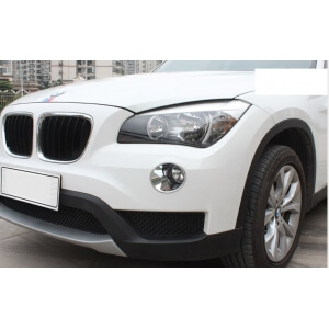 Накладки на передние ПТФ BMW X1 (2013-2015)