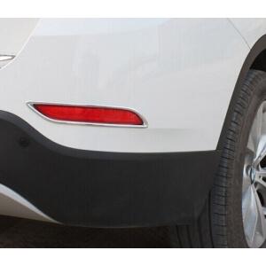 Накладки на задние ПТФ BMW X1 (2013-2015)