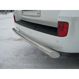 защита заднего бампера Lexus LX 570 d76 LLZ-000268