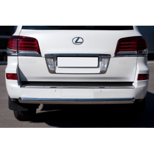 Защита заднего бампера Lexus LX 570 2012 d76 (дуга) LLXZ-000867