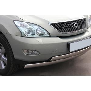 Защита переднего бампера Lexus RX330 d75х42/75х42 LRZ-000398