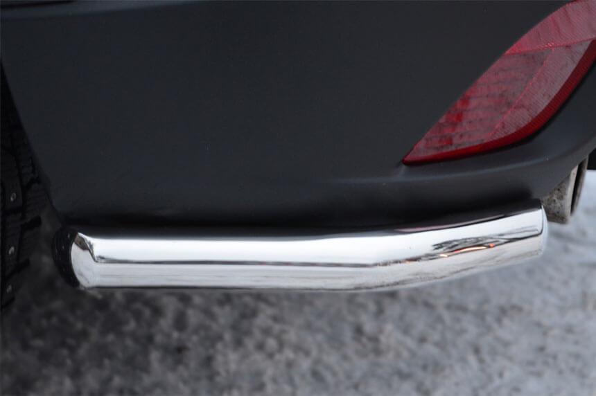 Защита заднего бампера уголки Mazda CX-5 2011- d42 M5Z-001141, фото 5