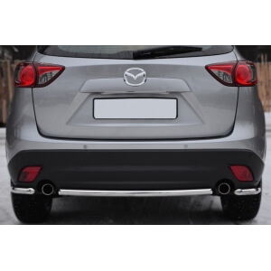 Защита заднего бампера уголки Mazda CX-5 2011- d42 M5Z-001141