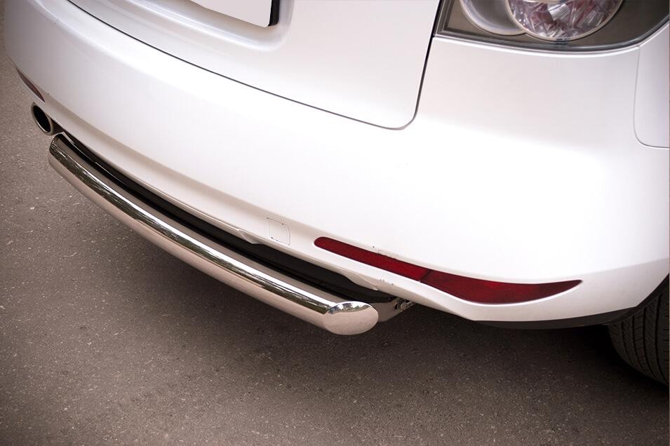Защита заднего бампера Mazda CX-7 2010 d76 (дуга) MC7Z-000647, фото 3