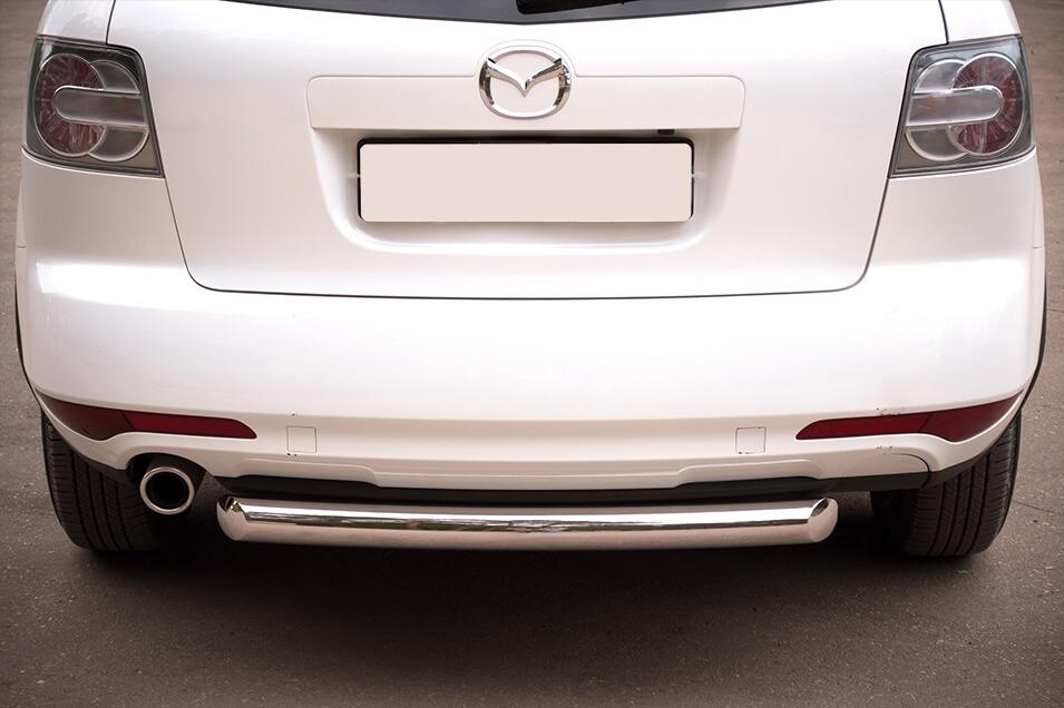 Защита заднего бампера Mazda CX-7 2010 d76 (дуга) MC7Z-000647, фото 4