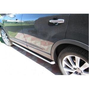 Пороги труба Mazda CX-9 2006 – 2012 (вариант 1)