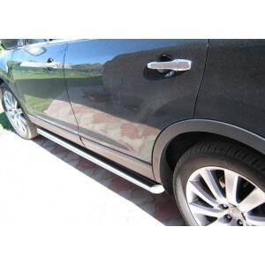 Пороги труба Mazda CX-9 (вариант 1)