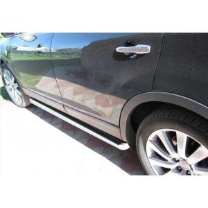 Пороги труба Mazda CX-9 2006 – 2012 (вариант 2)