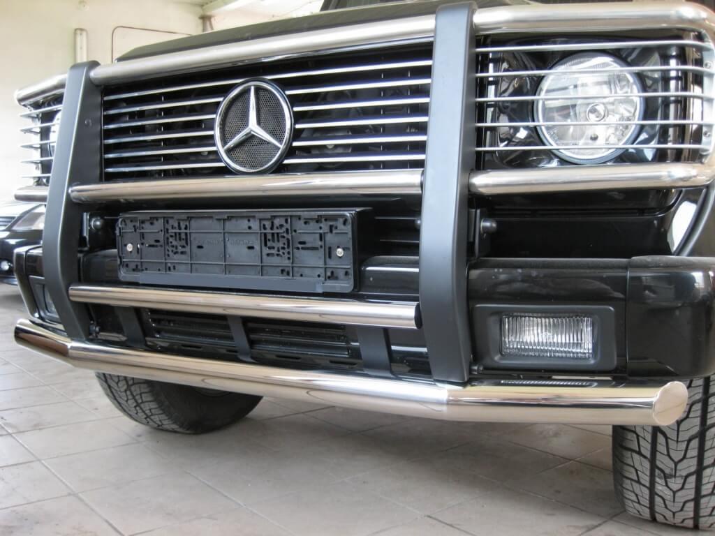 Класс Защита переднего бампера MERCEDES BENZ G 1992- d63/42 MGZ-000340