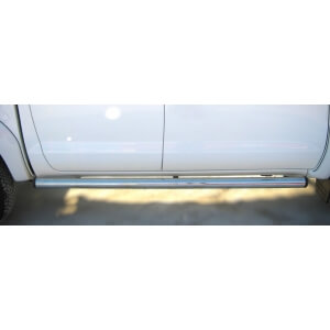 Пороги труба Mitsubishi L200 2010 – 2014 (вариант 2)