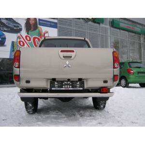 защита заднего бампера Mitsubishi L200 2010 d76 MLZ-001128