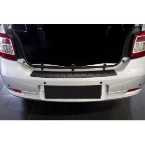 Пластиковая накладка на бампер Renault Logan 2