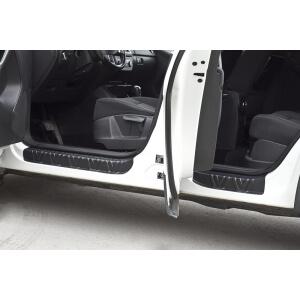 Накладки на внешние пороги VW Tiguan