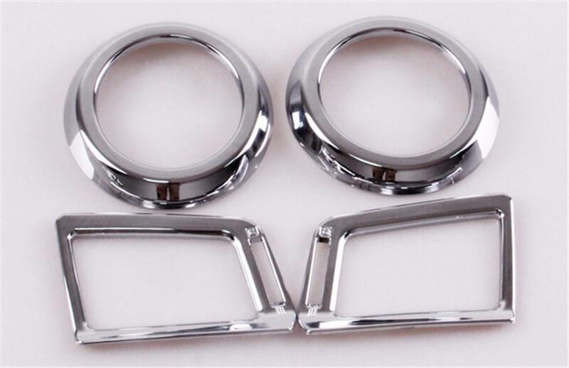 Хром окантовки воздуховодов Toyota Rav4, фото 2