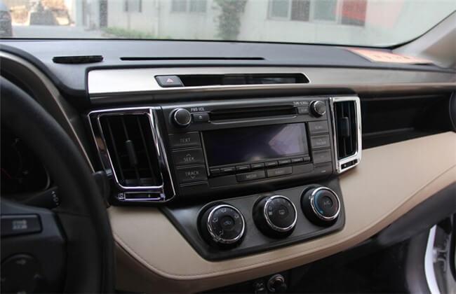 Хром окантовки воздуховодов Toyota Rav4, фото 4