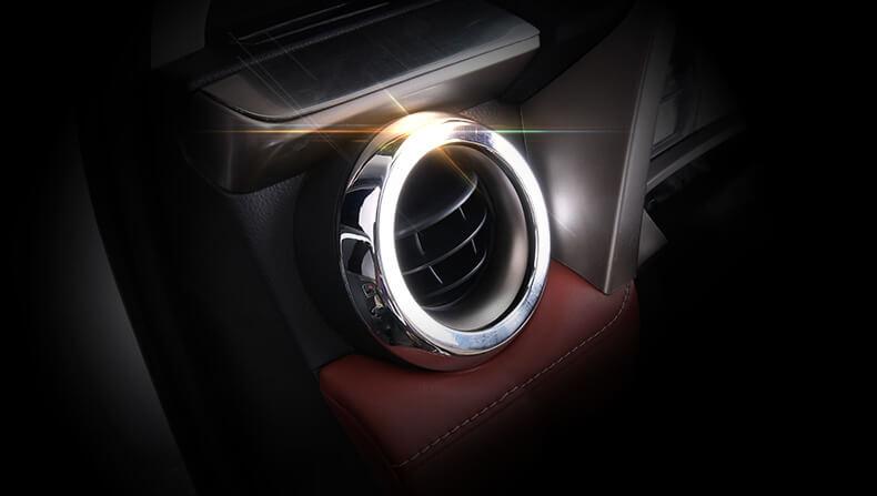 Хром окантовки воздуховодов Toyota Rav4, фото 5