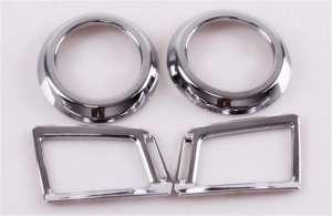 Хром окантовки воздуховодов Toyota Rav4