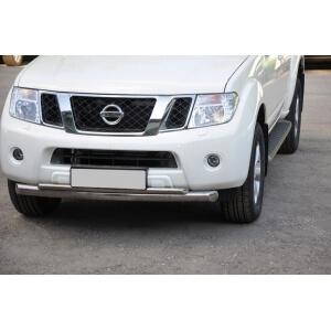Защита переднего бампера Nissan Pathfinder 2010 d76/42 (дуга) NNZ-000353