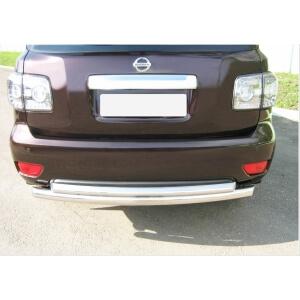 защита заднего бампера Nissan Patrol 2010 d76/76 PAZ-000789