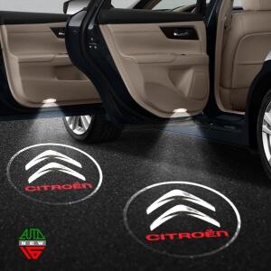 Лазерная проекция с логотипом Citroen