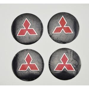 Наклейки на заглушки литых дисков Mitsubishi