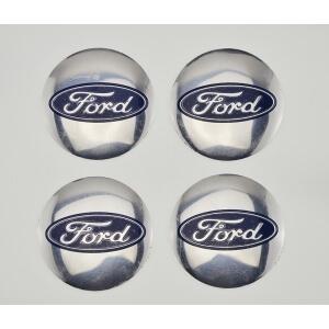 Наклейки на заглушки литых дисков Ford