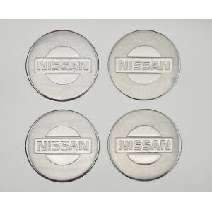 Наклейки на заглушки литых дисков Nissan