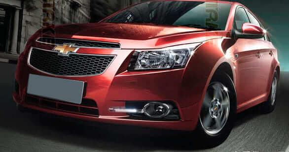 Дневные ходовые огни Chevrolet Cruze L (2 Вариант)