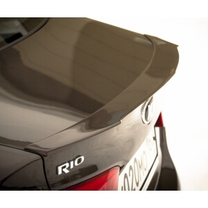 Лип-спойлер на Kia Rio 3