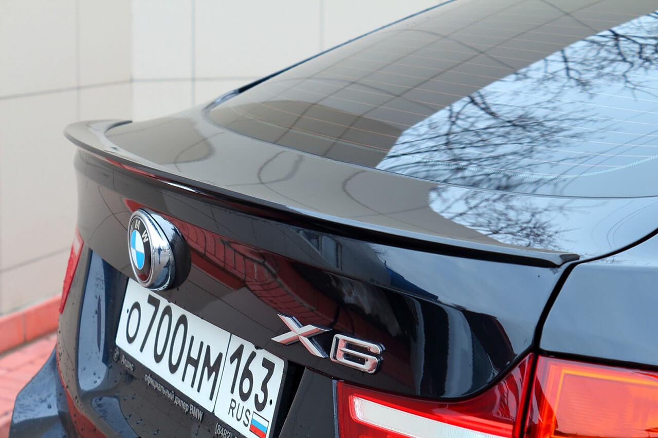 Спойлер на BMW X6 Е71/Е72, фото 2