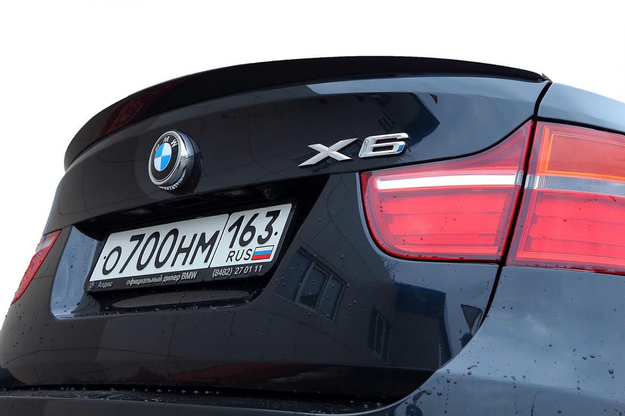 Спойлер на BMW X6 Е71/Е72, фото 3
