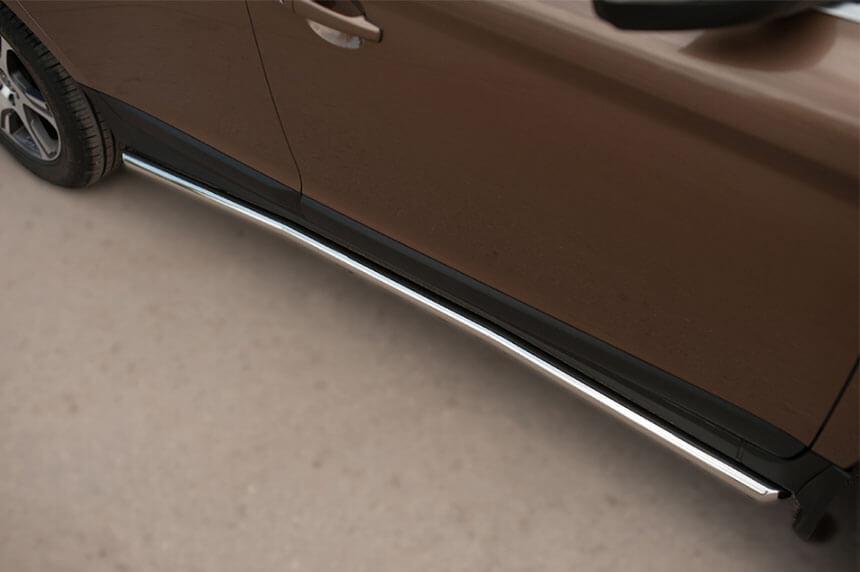 Защита порогов Volvo XC 60 2008-2013 d42 VXCT-002076, фото 3