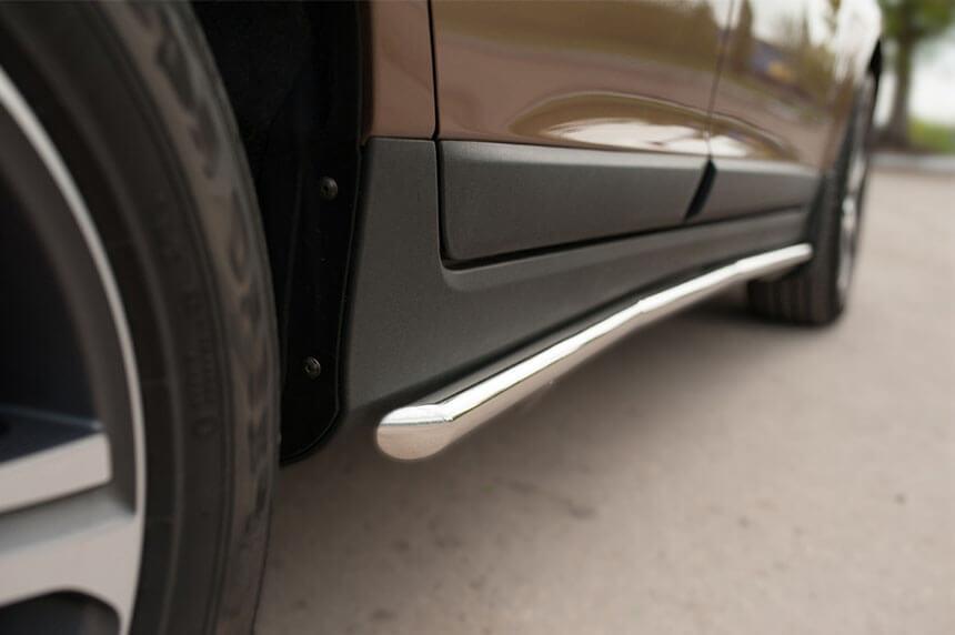 Защита порогов Volvo XC 60 2008-2013 d42 VXCT-002076, фото 5