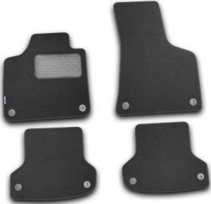 Коврики в салон AUDI A3 5D АКПП 2007->, хб., 4 шт. (текстиль)