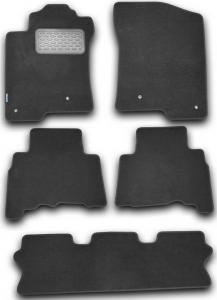 Коврики в салон LEXUS GX 460 2010->, внед., 5 шт. (текстиль)