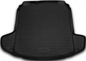 Коврик в багажник SKODA Rapid,  2013-> сед. (полиуретан)