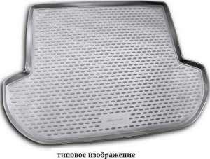 Коврик в багажник KIA Rio III 2005-2011, сед. (полиуретан)