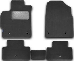 Коврики в салон MAZDA CX-7 АКПП 2010->, внед., 5 шт. (текстиль)