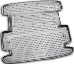 Коврик в багажник Dodge Journey (полиуретан)