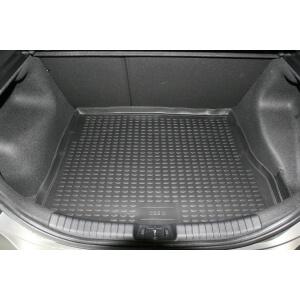 """Коврик в багажник KIA Cee""""d 2006->, хб. (полиуретан, серый)"""