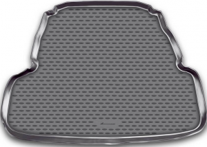 Коврик в багажник KIA Cadenza, 2011->, сед. (полиуретан)
