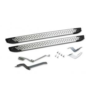 Комплект пороги алюминиевый профиль,Ford Ranger 2013-