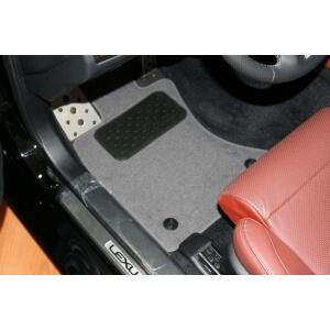 Коврики в салон LEXUS GS 350 АКПП  2012->, сед., 4 шт. (текстиль)