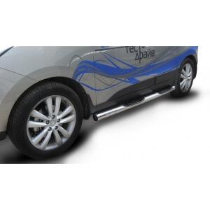 Пороги с проступями Hyundai ix35 2010 – 2015